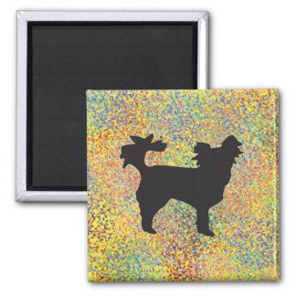 Little Dog Splash Magnet