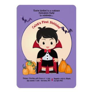 Little Dracula Invitation