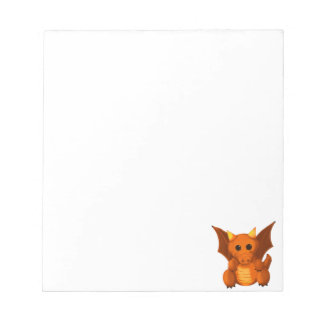 """Little Dragon"" Notepad"