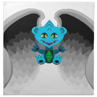 Little Dragon with Wings Napkin