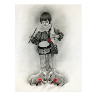 Little Drummer Boy Postcard