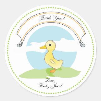 Little Duckling | Baby Shower Favor Sticker