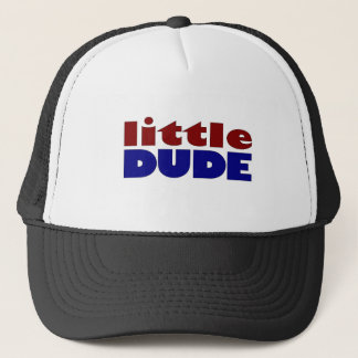 Little dude trucker hat