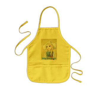 little dutch girl kids apron