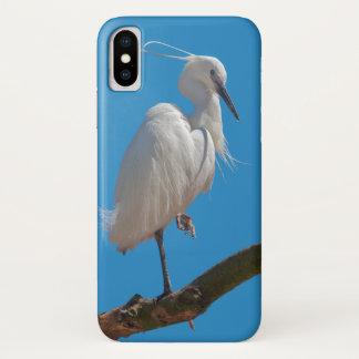 Little Egret iPhone X Case
