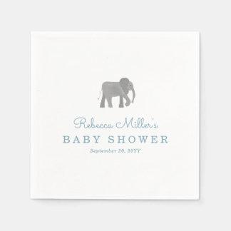 Little Elephant Baby Shower Disposable Napkin
