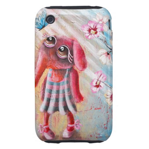 Little Elephant iPhone3 case Tough iPhone 3 Covers