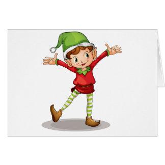 Little elf card