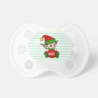 Little Elf Christmas Baby Pacifier