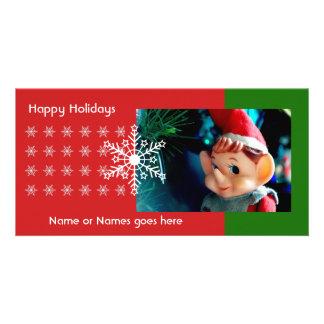 Little Elf Photo Card