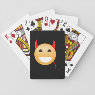 Little Emoji Devil Playing Cards