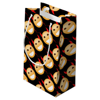 Little Emoji Devil Small Gift Bag