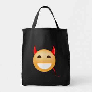 Little Emoji Devil Tote Bag