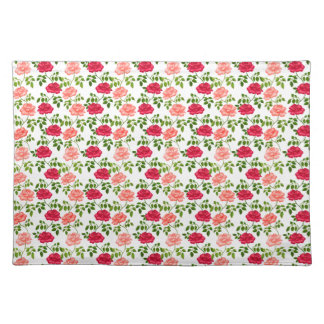 Little English Tea Roses Placemats
