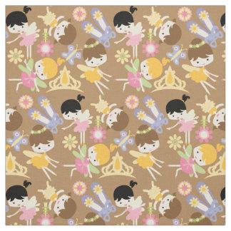 Little Fairy Ballerinas Fabric