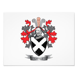 Little Family Crest Coat of Arms Photographic Print