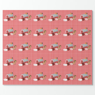 Little Farm Animals Wrapping Paper