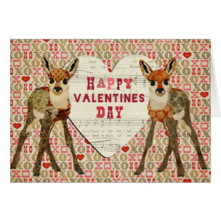 Little Fawns Valentine Card