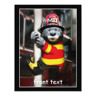 Little Firefighter Card