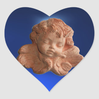 LITTLE FLORENTINE  ANGEL HEART STICKERS