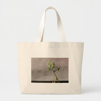 Little Flower Buds Large Tote Bag