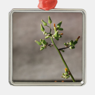 Little Flower Buds Metal Ornament
