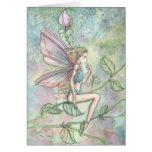 Little Flower Fairy Watercolor Art Cards
