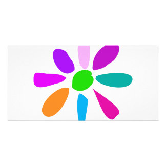 Little Flower Personalized Photo Card