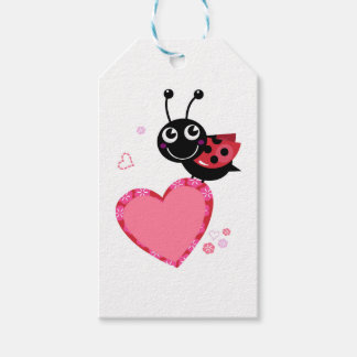 Little flying Red bee : KIDS DESIGN Gift Tags
