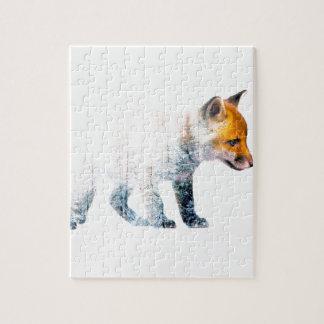 Little fox jigsaw puzzle