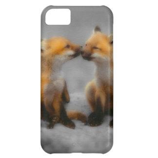 Little Fox Love iPhone 5C Case