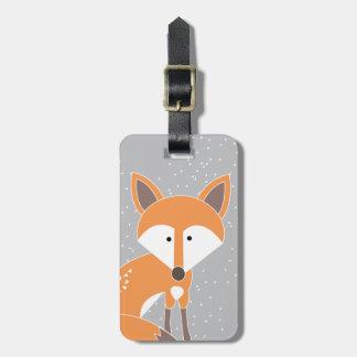Little Fox Luggage Tag