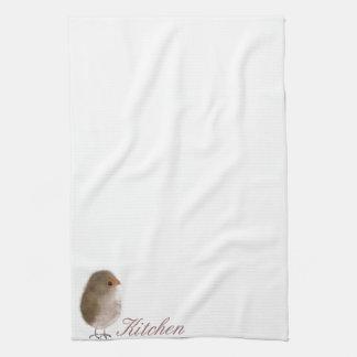 Little Funny bird Tea Towel