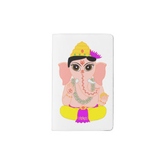 Little Ganesha Pocket Moleskine Notebook
