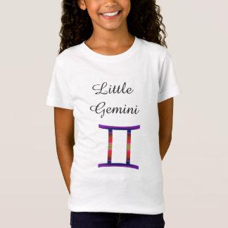 Little Gemini Zodiac Horoscope Sign Kids T-Shirt