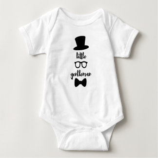 Little Gentleman Babygrow For Boys Baby Bodysuit