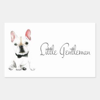 Little Gentleman Rectangular Sticker