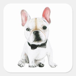 Little Gentleman Square Sticker