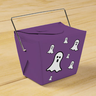 Little Ghosts Halloween Favor Box