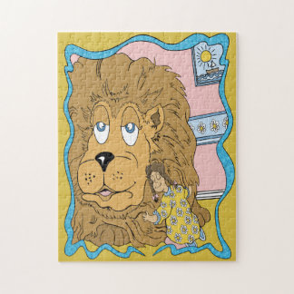 Little Girl and the Lion Puzzle