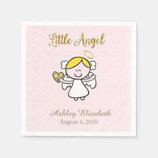 Little Girl Angel Disposable Napkin