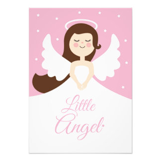 Little Girl Angel Photo Print