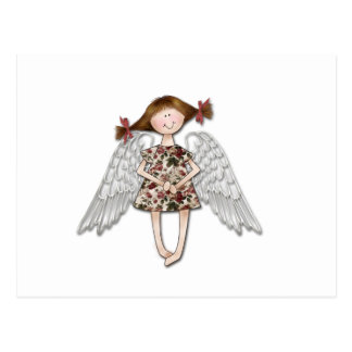 Little Girl Angel Postcard