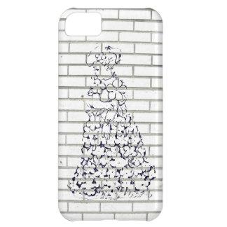 Little Girl Flower-Fantasy Gown Graffiti iPhone 5C Case
