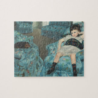 Little Girl in a Blue Armchair, 1878 (oi Puzzles