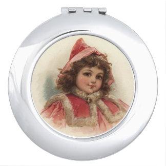 Little Girl in Red, Vanity Mirror