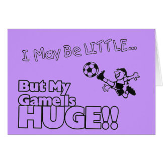 Little girl SOCCER Card