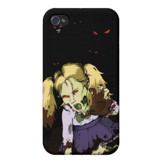 Little Girl Zombie iPhone 4 Cases