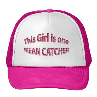 Little girls Catchers Hat