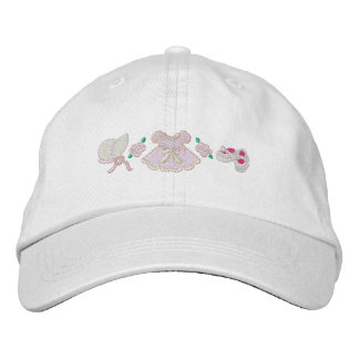 Little Girl's Dress Embroidered Hat